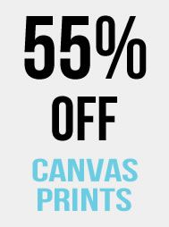 55% Off Canvas Prints