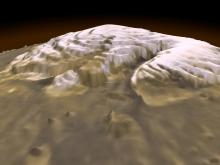 3-D View of Mars -  NASA
