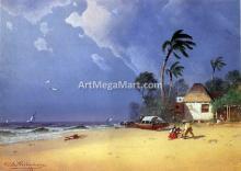 A Bahamian Scene