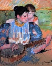 A Banjo Lesson - Mary Cassatt