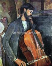 A Cellist - Amedeo Modigliani