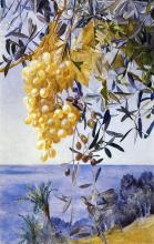 A Cluster of Grapes - Henry Roderick Newman
