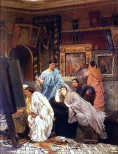 A Collection of Pictures at the Time of Augustus (also known as Charles Jaques Alexander Cesar) - Sir Lawrence Alma-Tadema