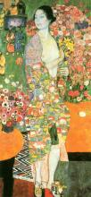 A Dancer - Gustav Klimt
