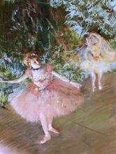 A Dancer on Stage