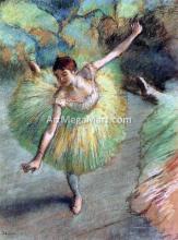 A Dancer Tilting