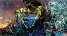 A Demon Sitting - Michael Vrubel