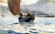A Fishing Boat Returning - Winslow Homer