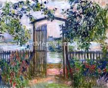 A Garden Gate at Vetheuil