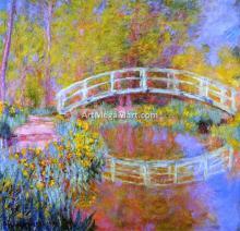 A Japanese Bridge at Giverny