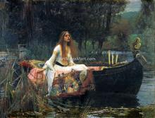 A Lady of Shalott