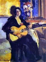 A Lady with Guitar