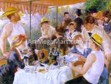 A Luncheon of the Boating Party - Pierre Auguste Renoir