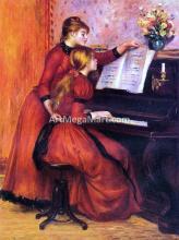 A Piano Lesson - Pierre Auguste Renoir