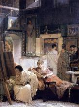 A Picture Gallery (also known as Benjamin Constant) - Sir Lawrence Alma-Tadema