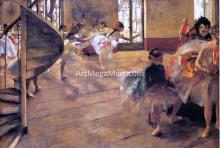 A Rehearsal - Edgar Degas