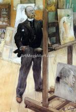 A Self Portrait - Carl Larsson