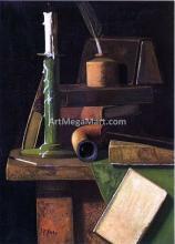 A Student's Desk - John Frederick Peto