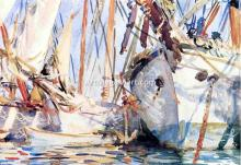 A White Ship - John Singer Sargent