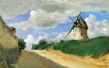 A Windmill on the Cote de Picardie, near Versailles