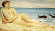 Actaea the Nymph of the Shore - Lord Frederick Leighton