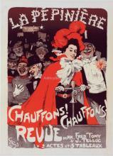Affiche pour le Concert de la Pepiniere Chauffons - Jules Alexandre Grun