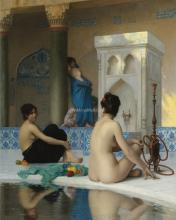 After the Bath - Jean-Leon Gerome