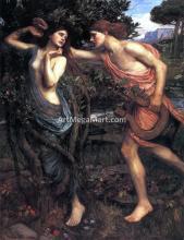 Apollo and Daphne - John William Waterhouse