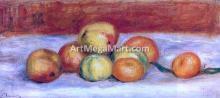 Apples and Manderines - Pierre Auguste Renoir