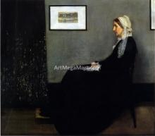 Arrangement in Grey and Black: Portrait of the Painter's Mother