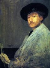 Arrangement in Grey: Portrait of the Painter