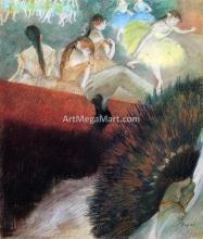 At the Ballet - Edgar Degas
