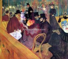 Henri De Toulouse-Lautrec Paintings
