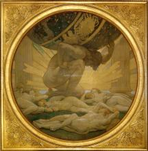Atlas and the Hesperides - John Singer Sargent