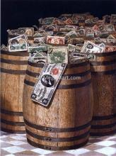 Barrels of Money - Victor Dubreuil