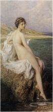 Bather - Herbert James Draper