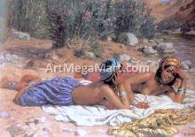 Bathers Resting