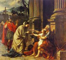 Belisarius - Jacques-Louis David