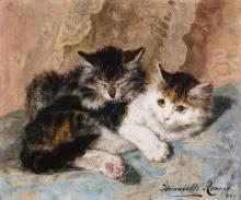 Best of Friends - Henriette Ronner-Knip