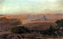 Blick Auf Jerusalem Vom Olberg Aus - Gustav Bauernfeind