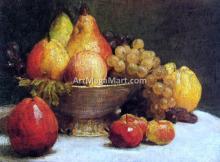 Bowl of Fruit - Henri Fantin-Latour