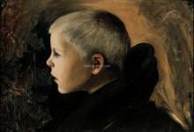 Boy from Sakkiarvi - Hugo Simberg