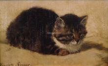 Cat - Henriette Ronner-Knip