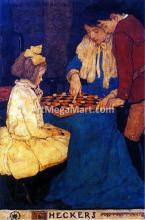 Checkers - Jessie Willcox Smith