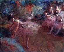 Dancers in Pink - Jean-Louis Forain
