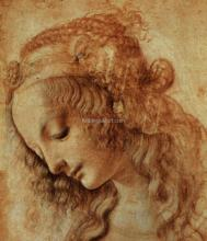 Drawing of a Woman's Head
