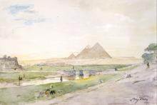 Egyptian Pyramids - Henry Bacon