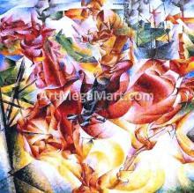 Umberto Boccioni Paintings