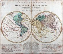 Engraved World Map, 1760 - Vintage Map Collection