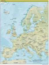 Europe Map - Physical - Map Collection